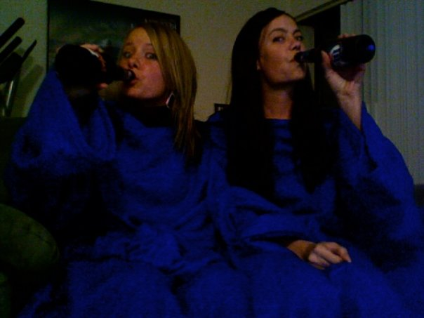 Snuggie Drinking Game