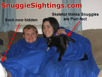 Skeletor the Cat - not to be confused with Skeletor from 'He-Man and the Masters of the Universe'