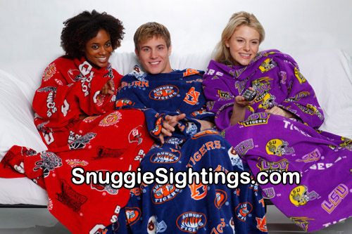 Wear Your Team Colors - New Sport Snuggies coming soon!