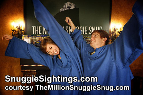 The More Snuggies, the More Restless the Arms.