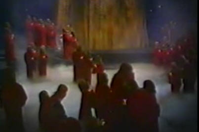 The first Snuggie Flash Mob.