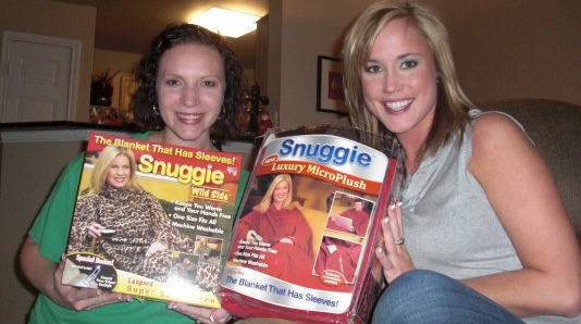 Brittany and Tami take a walk on the Snug side. Tami secretly dreamed of  joining the WNBA. The magic powers of the Snuggie make her ... bd7f416b4